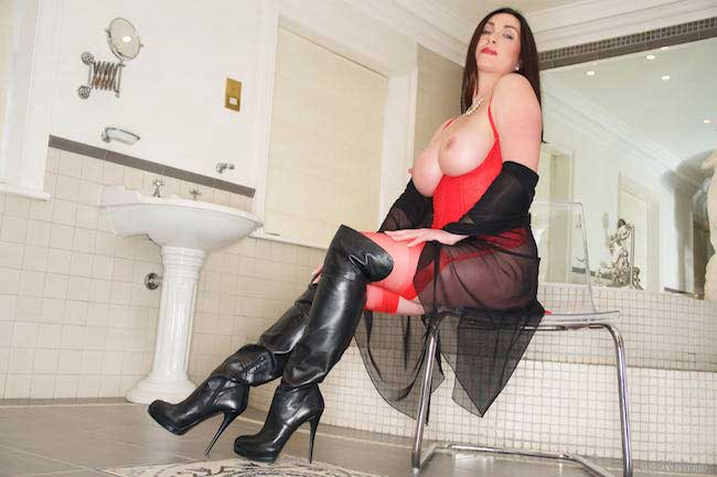 Thigh Boots Mistress Miss Hybrid