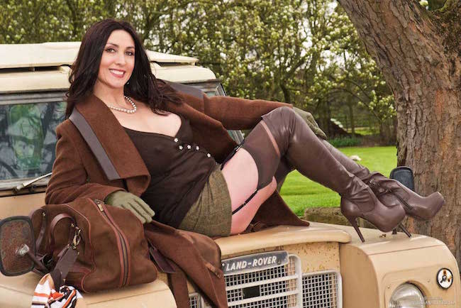 Miss Hybrid Sexy Stockings And Boots
