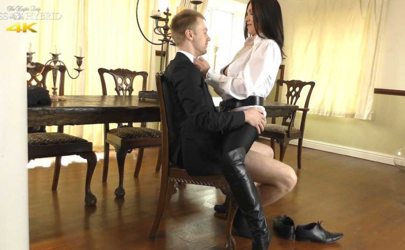 Leather Thigh Boots Boss Miss Hybrid